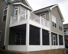two story deck - Google Search