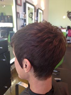 Cut by Dava, owner and stylist at The Chameleon Salon in Clarksville, TN.