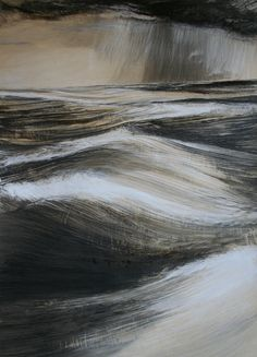 Marion Lepennec Modern Art, Contemporary, Chinese Painting, Printmaking, Waterfall, Art Gallery, My Arts, Fine Art, Black And White