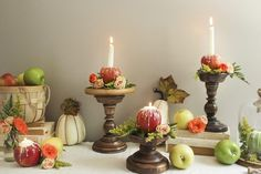 How to Make Apple Candles | eHow