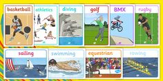 PE and Sports 2016 Rio Olympics Primary Resources - Sports PE