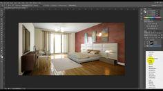 Post produciendo materiales de forma independiente en photoshop