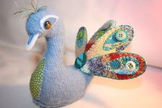 A reclaimed PEACOCK - TOYS, DOLLS AND PLAYTHINGS