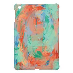 Score! This product is eligible for a discount!  Use ZAPRILSTEALS at checkout.   Abstract Tropical Painting iPad Mini Case