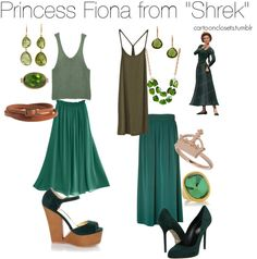 "Princess Fiona from ""Shrek"""