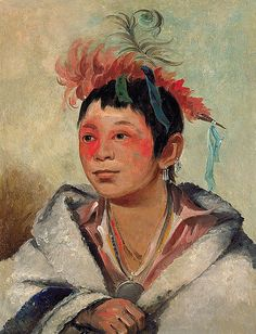 Native American George Catlin Aú-nah-kwet-to-hau-páy-o, One Sitting in the Clouds, a Boy Native American Pictures, Native American History, Native American Indians, Native Indian, Native Art, Aboriginal People, American Indian Art, First Nations, American Artists
