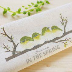 10,29€ 3pcs BIRD- / lot Algodón de lino teñido a mano Impreso Quilt Tela de costura DIY 20cmx30cm Envío Gratis