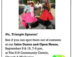 Triangle Squares Open House & Intro Night | TorontoDance.com