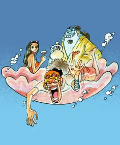 """omg-one-piece: """" Scan by robinswhitehat. """""""