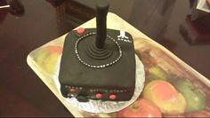 Atari Remote birthday cake