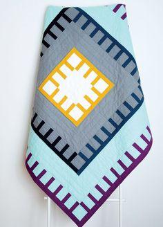 Blanket Stitch Quilt