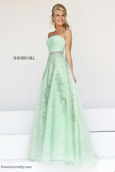 Sherri Hill 11123 Lace Prom Dress with Ruching