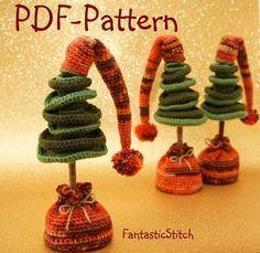 Amigurumi crochet pattern Christmas tree