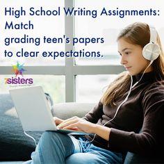 How to Grade High School Papers - 7sistershomeschool.com