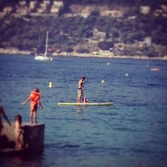 My daughter's first stand up paddle experience. Stand Up, Paddle, Of My Life, To My Daughter, Boat, France, Pictures, Photos, Get Back Up