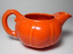 Franciscan El Patio creamer 1930s California pottery