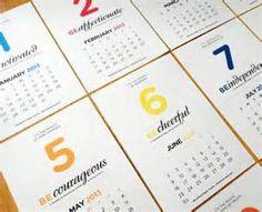 calendar design ideas - Yahoo Image Search Results