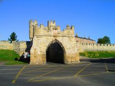 Walmgate Bar (City Walls) -- York, North Yorkshire, England.