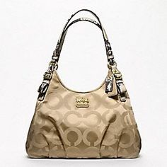 MADISON OP ART SATEEN MAGGIE SHOULDER BAG  Nice,7 different colors to choose from