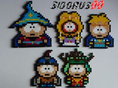 South Park, The stick of Truth Perler beads hama by Sidorus00