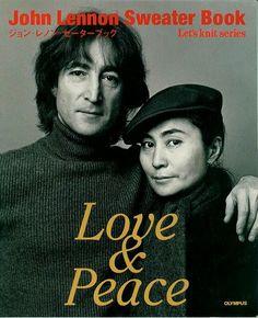 Let's knit series NV3736 1998 John Lennon Sweater Book