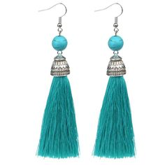 Tassel Earrings. 15 different colours to choose from