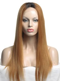 Stock Tamar Full Lace Human hair Wig - Straight -cls034Blond-s [cls034Blond] - $309.99 : Full Lace Wigs|Lace Front Wigs|Lace Wigs @ RPGSHOW