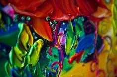 (¡Gracias por visitarnos! Pásate por mi tienda para más Willson Lau flores pinturas al óleo Original aquí: http://www.etsy.com/shop/willsonart) Una ONE-OF-A-KIND arte obra Original, pintada a mano en óleo sobre lienzo y firmado a mano por el artista, directo desde el estudio.