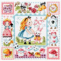 Sodastitch grille Alice in Wonderland SO-3177 chez Univers Broderie