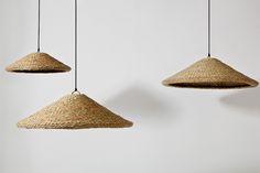 Chapeâu pendant lamps by mis-más