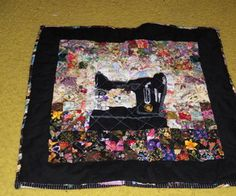 Picture of Sewing Machine quilt Canadian Quilts, Sewing Machine Quilting, Crazy Quilt Blocks, Quilt Tutorials, Projects To Try, Sewing Projects, Quilt Patterns, Stitch, Blanket