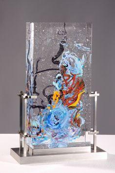Leya Industrial Architecture, Cast Glass, Ocean Waves, Public Art, It Cast, David, Museum, Fine Art, Sculpture
