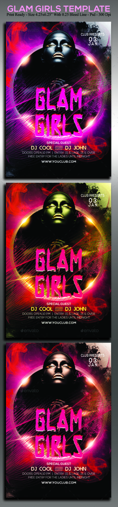 Glam Girls - Clubs & Parties Events