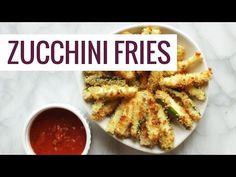 Baked Zucchini Fries - Pinch of Yum