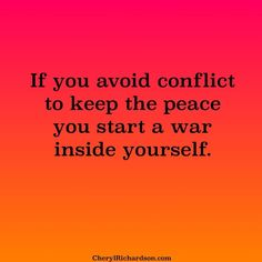 You simply need to remove negative people out of your life. No need for conflict.