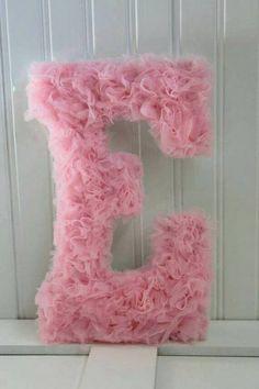 Números y letras decoradas - Dale Detalles