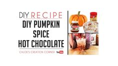 Thank you for checking out my Pumpkin Spice Hot Chocolate Recipe. It's a great fall recipe for kids who love Hot Chocolate.