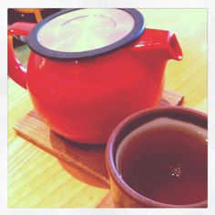 The Steeping Room in the Domain {favorite tea spot}