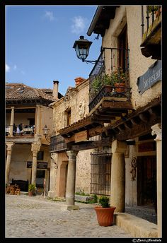 Pedraza Segovia Spain ~~ For more: - ✯… Places In Spain, Oh The Places You'll Go, Places To Visit, Travel Around The World, Around The Worlds, Madrid, Architecture Background, Spanish Style Homes, Spain And Portugal