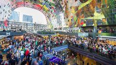 Nova arquitectura al mercat de Rotterdam