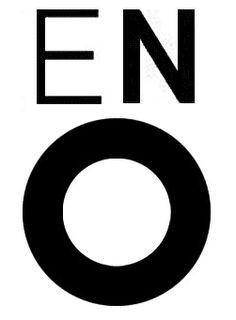 English National Opera logo by Mike Dempsey