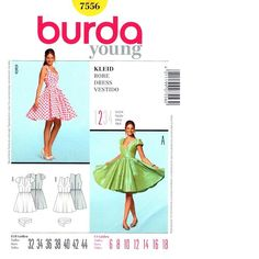 P44 7556 ŠATY - ŠATY STŘIHY Easy, Sewing Patterns, Summer Dresses, Clothes, Fashion, Gowns, Outfits, Moda, Clothing