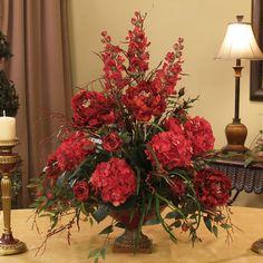floral arrangment- silk