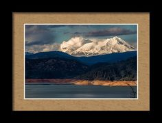 Mt. Shasta Framed Print featuring the photograph Here Comes The Sun by Marnie Patchett