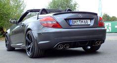 Frischer Wind für die Straße: Mercedes SLK 55 AMG (R171): 2010er SLK sorgt für mächtig Wirbel - Auto der Woche - Mercedes-Fans - Das Magazin für Mercedes-Benz-Enthusiasten