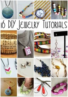 16 Fabulous DIY Jewelry tutorials fun crafts project and idea- Rae Gun Ramblings