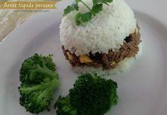 Festeja el Día Nacional de la hamburguesa de una manera original con un ArrozTapado Peruano.