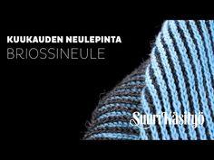 Briossineule Kuukauden neulepinta v1 h264 - YouTube