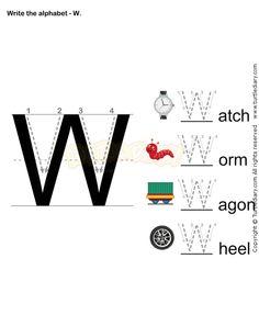 Letter Writing K - esl-efl Worksheets - preschool Worksheets ...