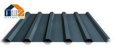 Trapezblech PS35/1035TR | 2. Wahl Dachprofil | Stahl 0,40 mm | 23 - Dunkelgrau